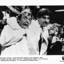 With Carol Kane and Joseph Bologna in