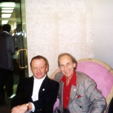 JB with Sid Caesar