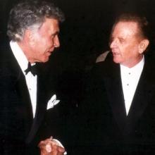 JB with Ricardo Montalban