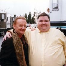 JB with John Pinette