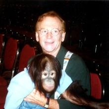 JB with orangatang