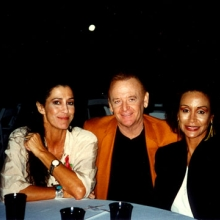 JB with Rita Coolege and Frieda Payne