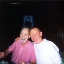 JB with Sid Caesar