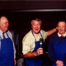 JB with Jonathan Winters and Ron Masak