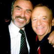 JB with Burt Reynolds
