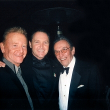 JB with Fred Travelina and Norm Crosby